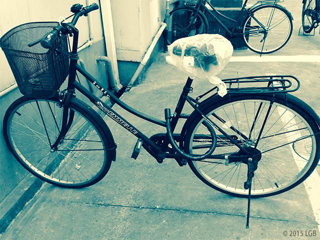 LG's bike