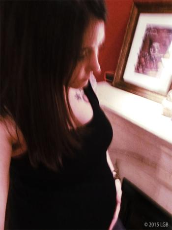 LG pregnant?