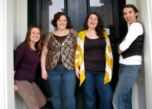 Misti, Amy, Meg and Maria are: Inkblot Ensemble