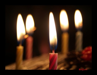 Birthday Candles by Romel
